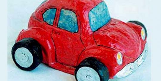 coche-papel-periodico