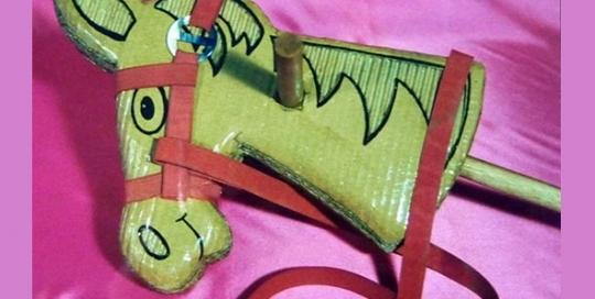 plantilla-caballito-carton-reciclado