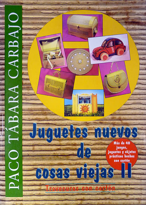 Libros de Manualidades con materiales reciclados | Portada Libro: