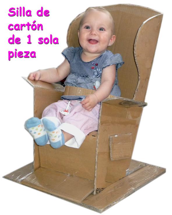 Construir una silla de cartón | Silla de cartón plegable y de una sola pieza