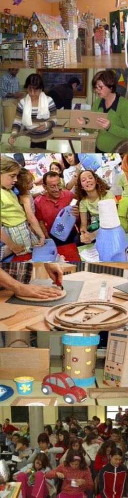 Quieres organizar Talleres de Reciclaje y Creatividad