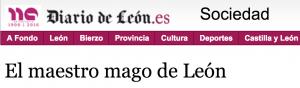 DIARIO DE LEON Y PACO TÁBARA