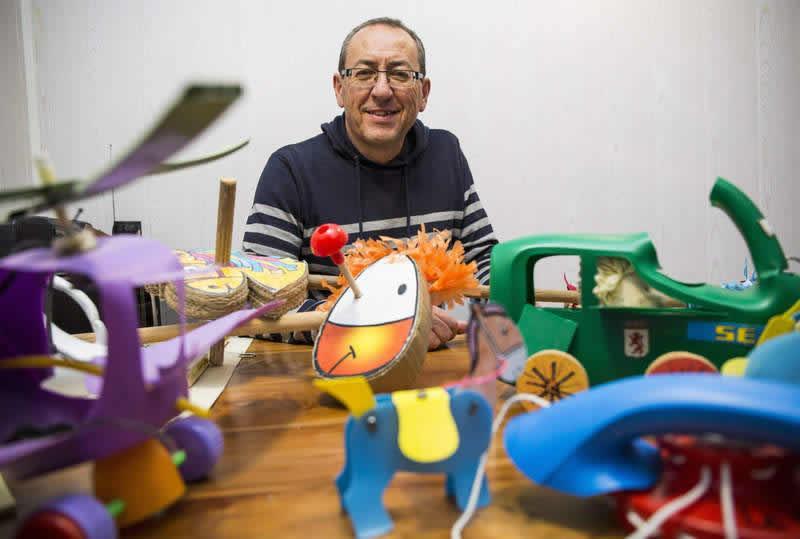 Paco Tábara un maestro del Reciclaje
