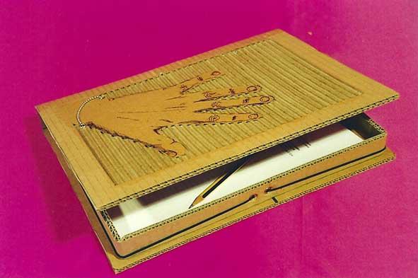 Plantilla para hacer una carpeta archivador, folder