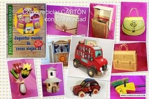 Como reciclar cartón de forma Creativa